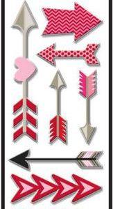 Me & My Big Ideas Puffy arrows Foil Stickers