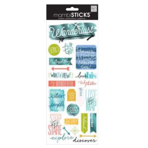 Me & My Big Ideas Specialty Stickers-Epic – Travel