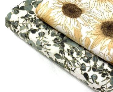 Бавовняна тканина з гліттером